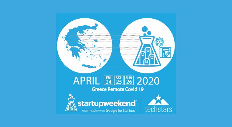 Startup Weekend COVID-19 Greece